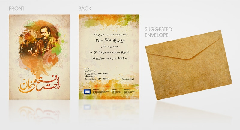 Invitation Card By Aliather
