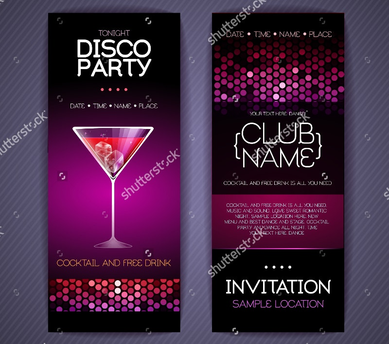 Cocktail Invitation Card