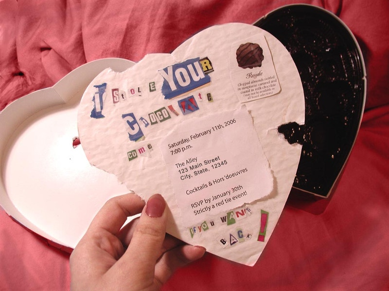 Anti Valentines Invitation