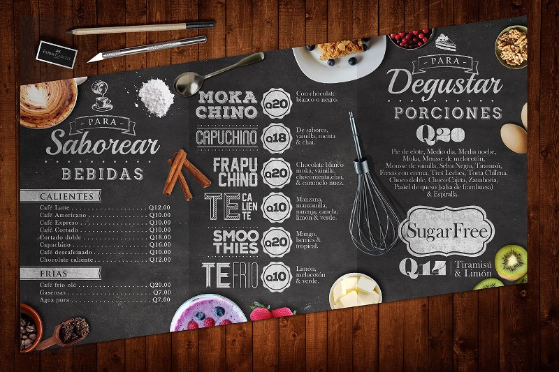 30+ Creative Restaurant Menu Designs | Free & Premium ...