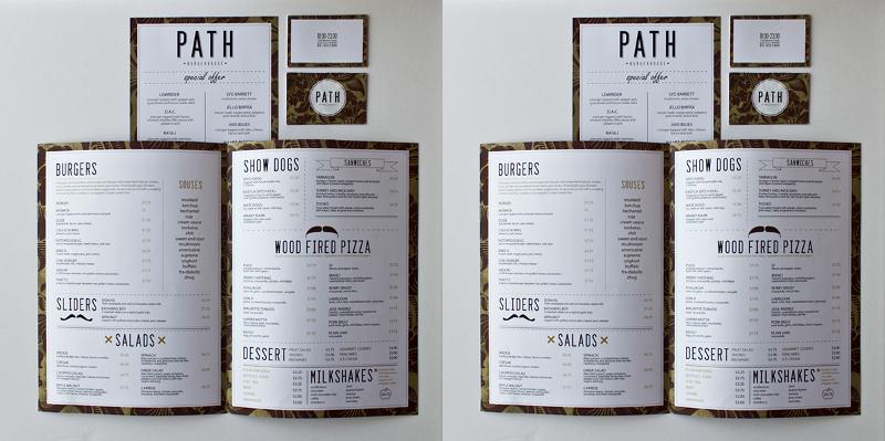 Branding Restaurant Menu