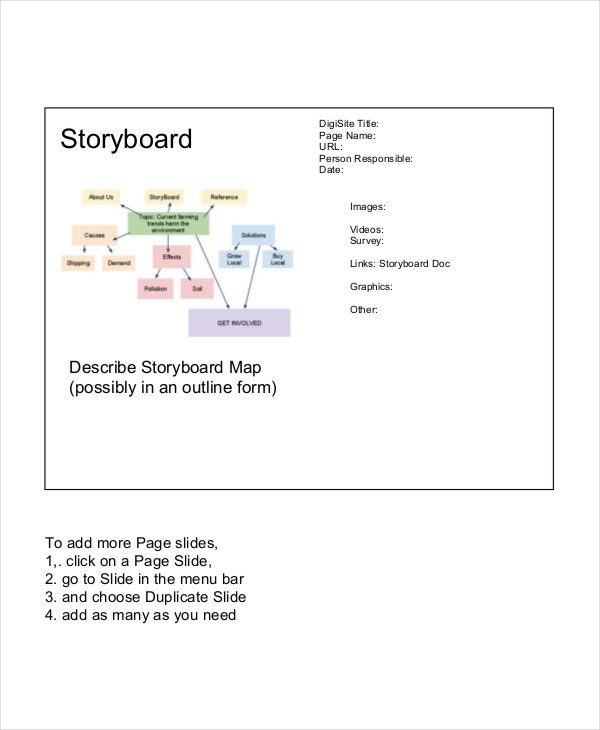 Website Storyboard Examples: Free & Premium Templates