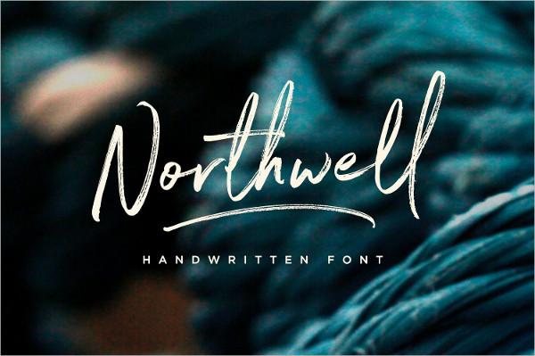 Script Design Handwritten Font