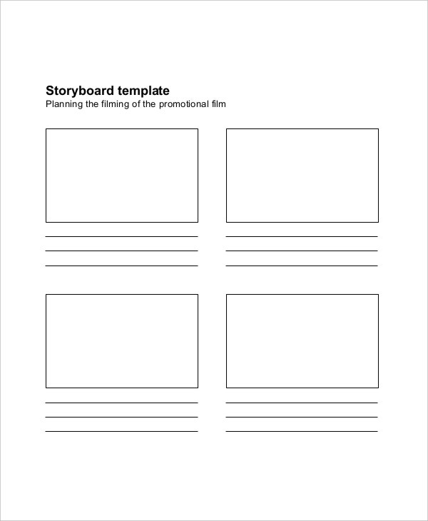 proposal storyboard template