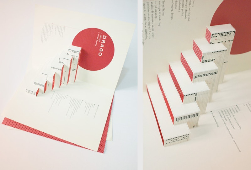 Graphic Design 3D Pop-up Brochure