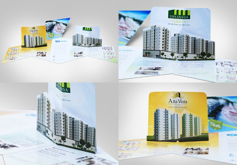 Folder Pop-up Brochure