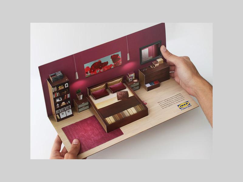 Advertising 3D Pop-up Brochure
