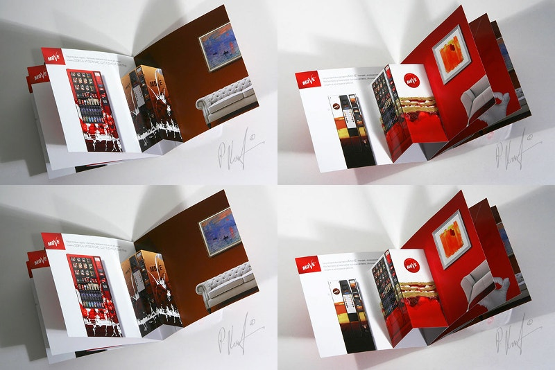 3D Pop-up Brochure Booklet