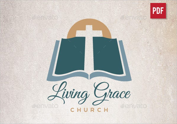 Church Design Logo Template