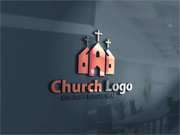 Church Logo Template for Company Design
