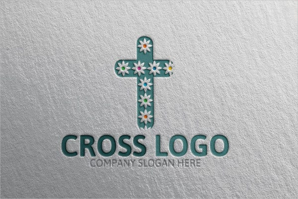 Floral Church Logo Template
