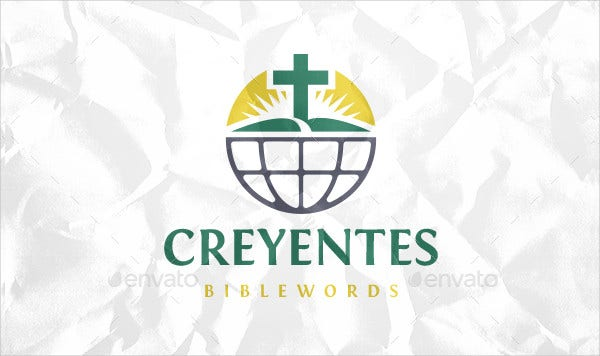 Global Church Logo Design Template