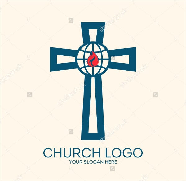 Globe Design Church Logo