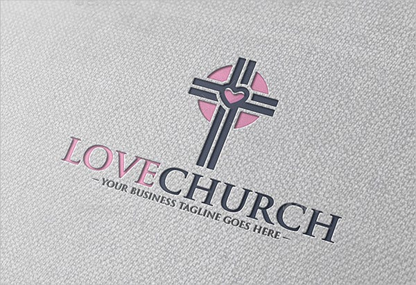 Love Church Logo Template