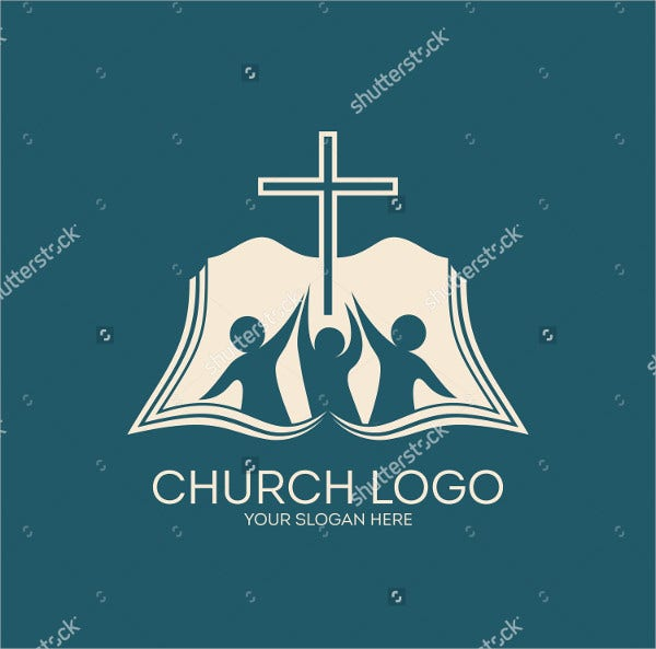 People with Raised Hand Church Logo