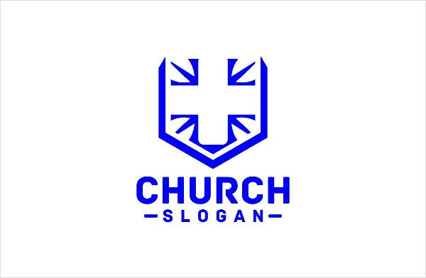 PSD Design Church Logo Template
