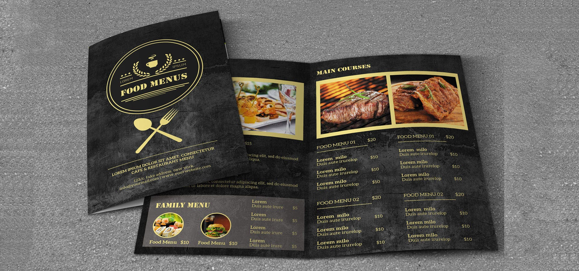 30 Creative Restaurant Menu Designs Free Premium Templates