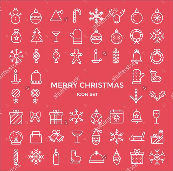 christmas holiday icon
