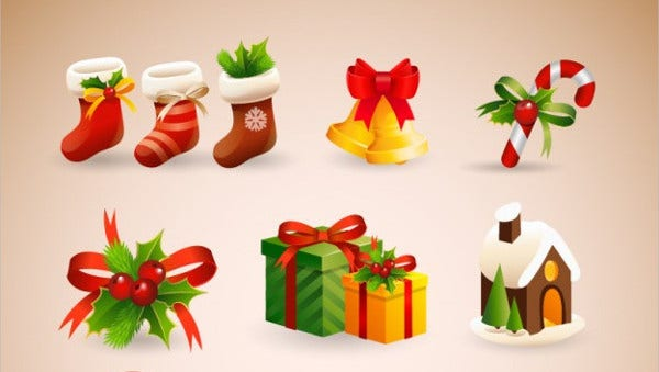 feature image for christmas icons