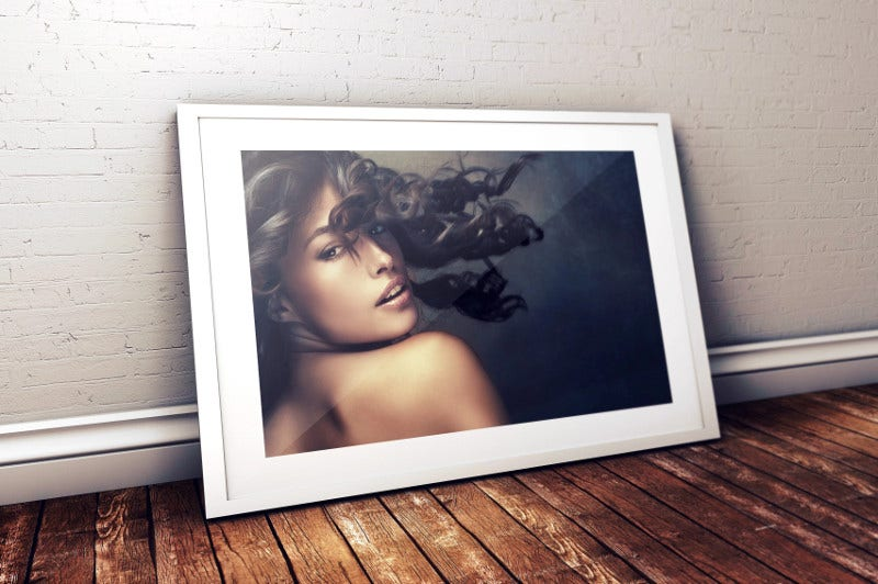 FREE Photo Frame Photoshop PSD Mockup