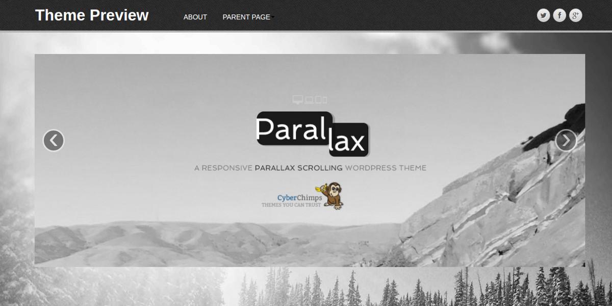 free-stunning-parallax-scrolling-wordpress-theme