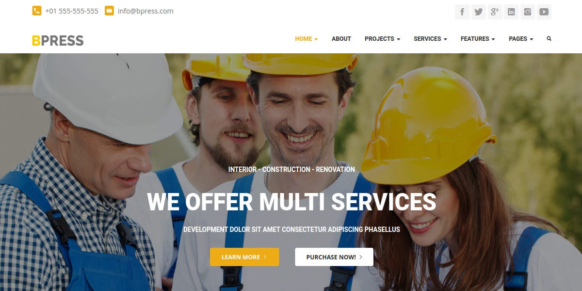 bootstrap-wordpress-website-theme-for-business-construction