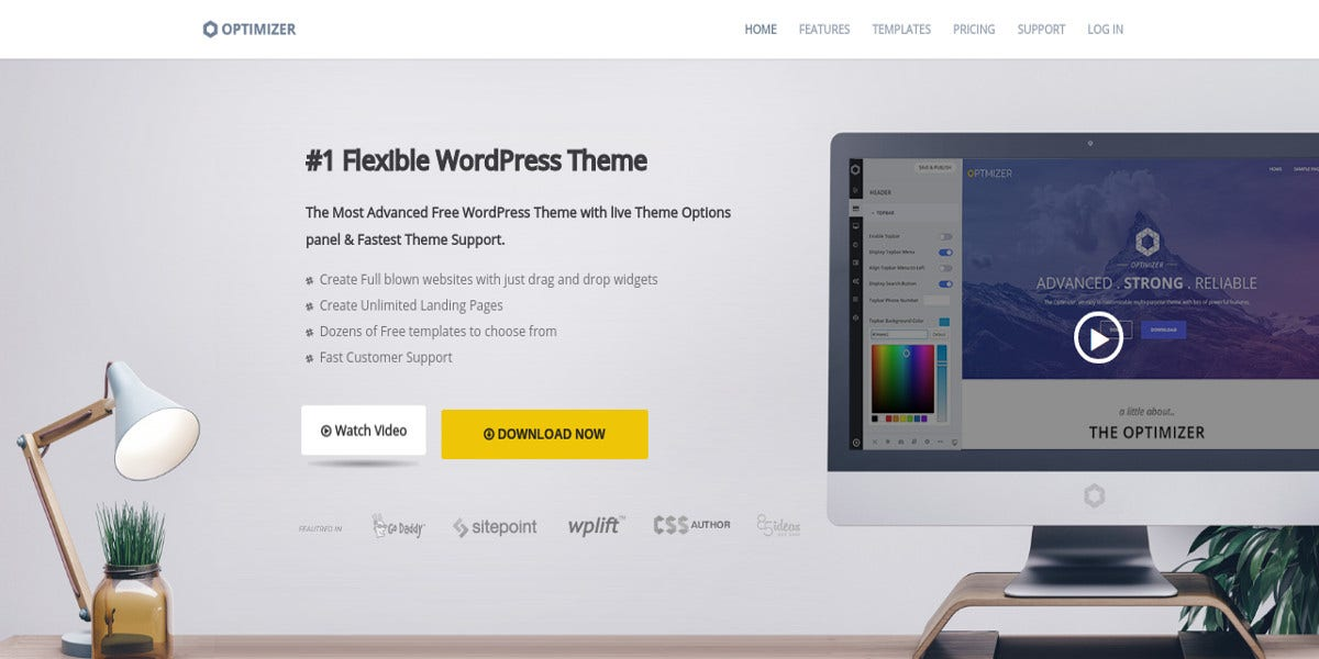 free-simple-wordpress-website-theme