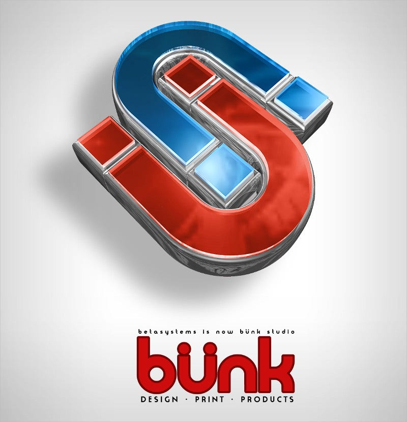 Bunk Logo Design