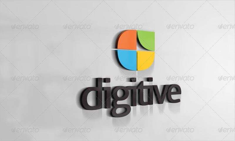 Digital 3D Logo Design