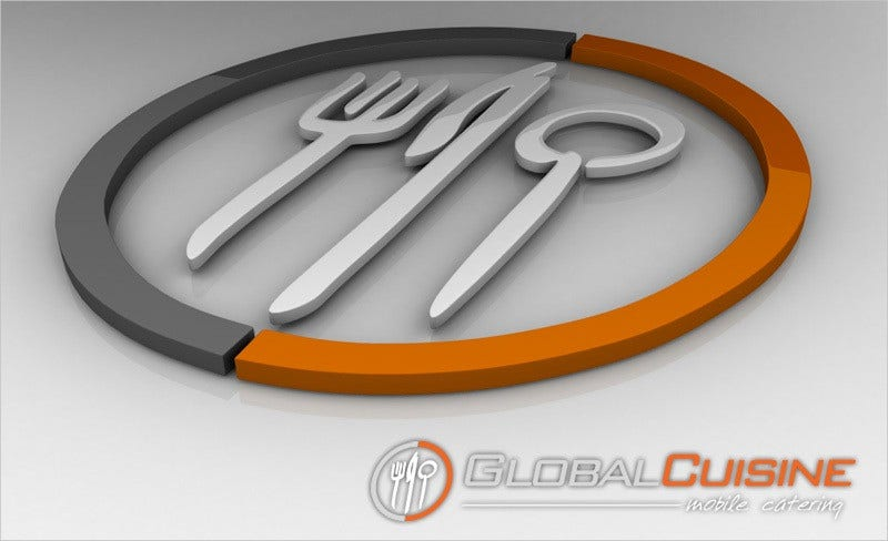 Global Restarurant Logo Design