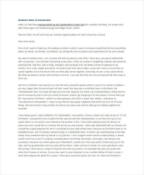 real estate introduction letter to friends