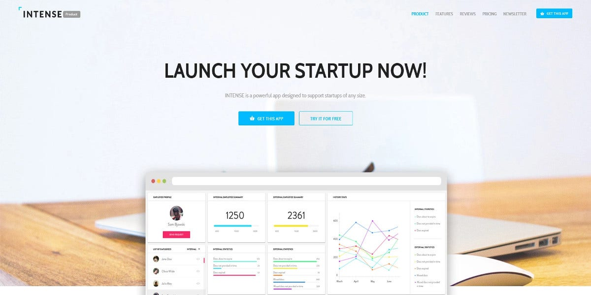 web-developer-landing-page-template