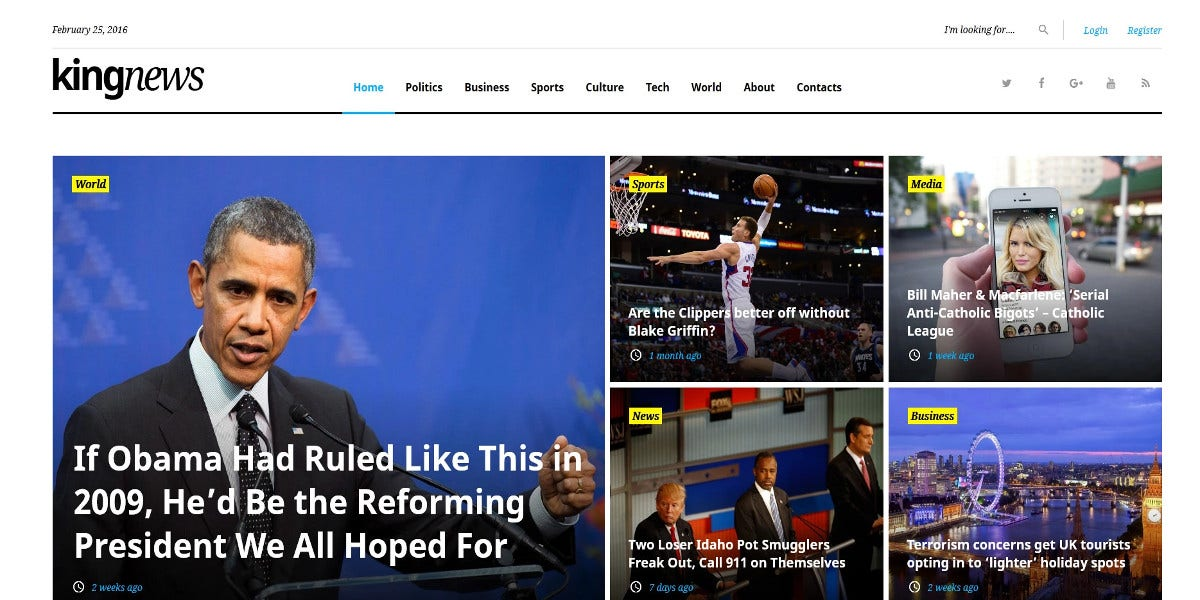 magazine news portal wordpress theme 28
