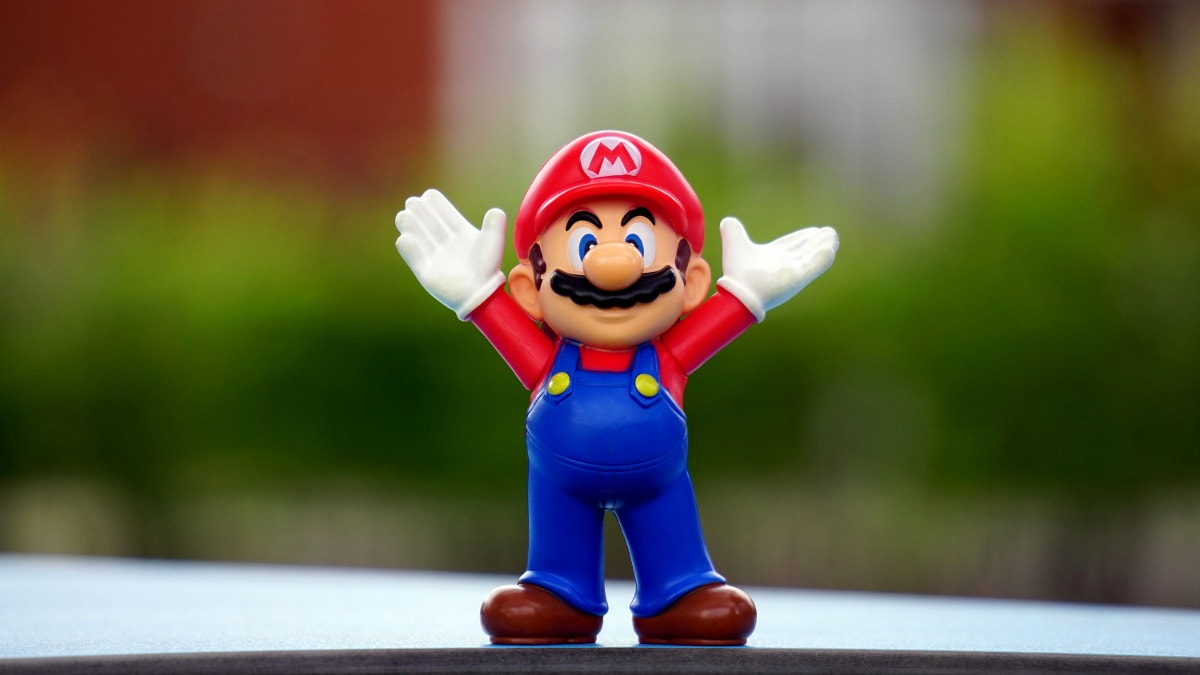 Toy Photography of Super Mario