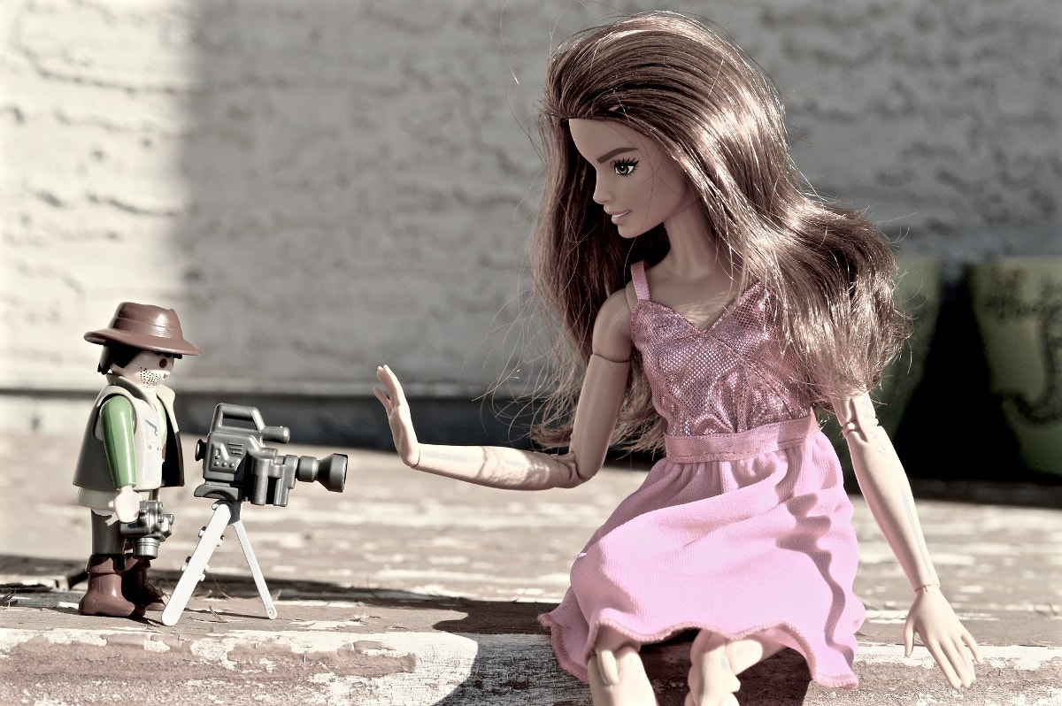 Toy Photography of Barbie