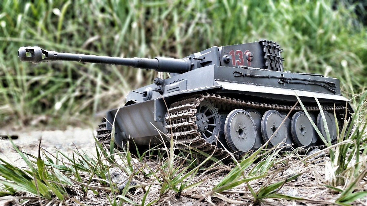 Tank Miniature Photography