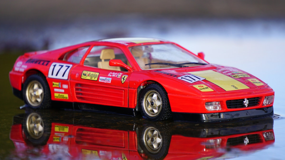 Amazing Car Toy Photography