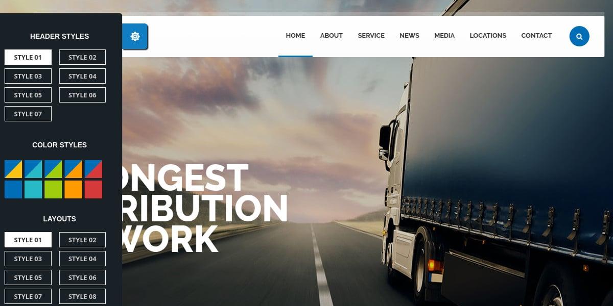 local transportation logistics wordpress 49