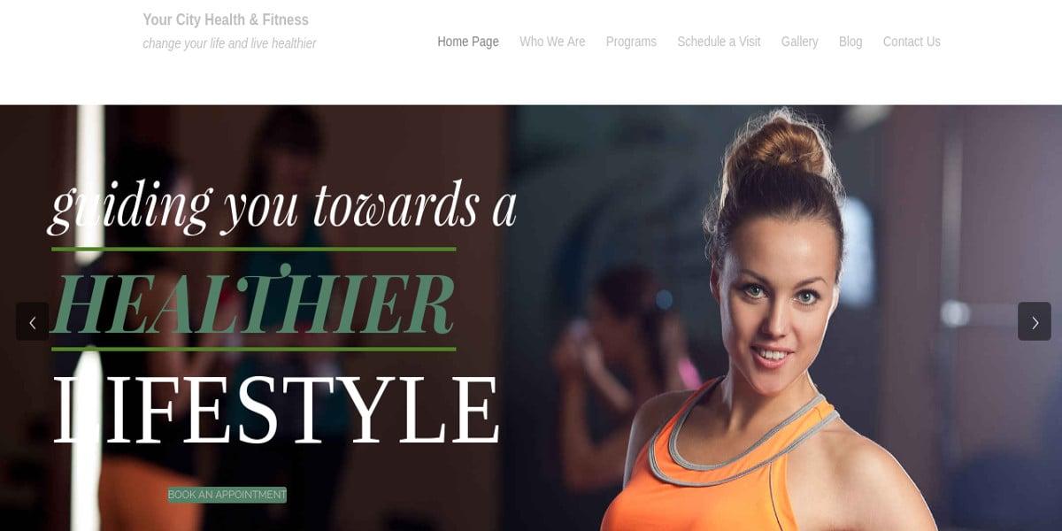 gym business wordpress theme