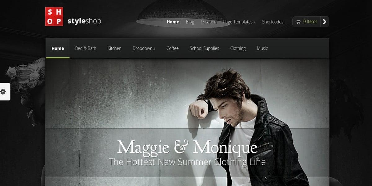 styleshop ecommerce wordpress theme