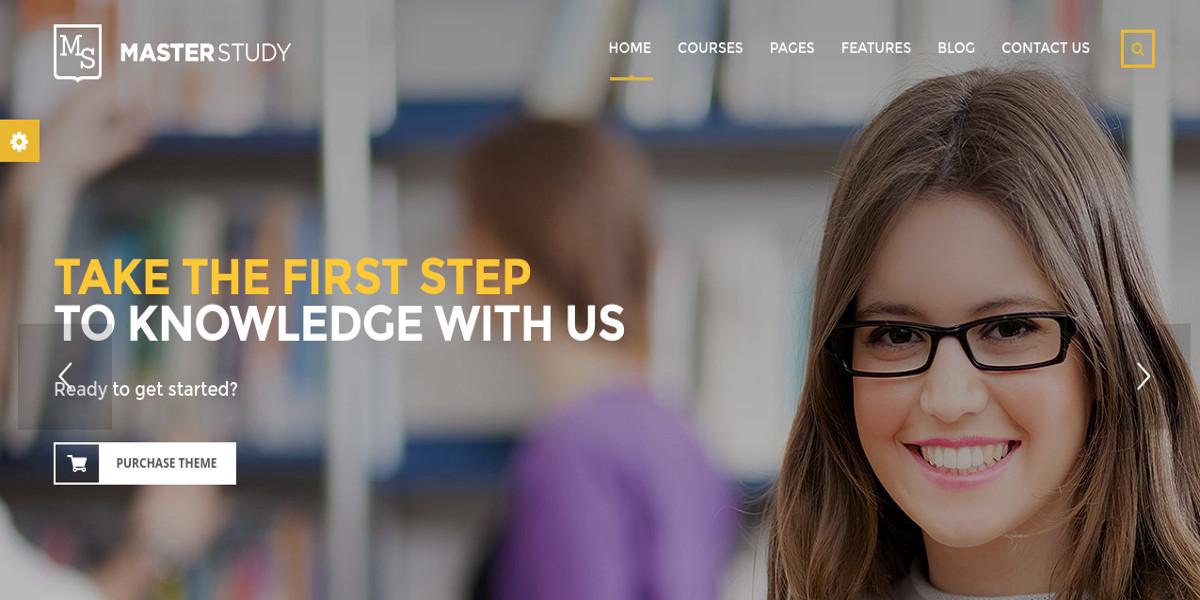 local business education center wordpress theme