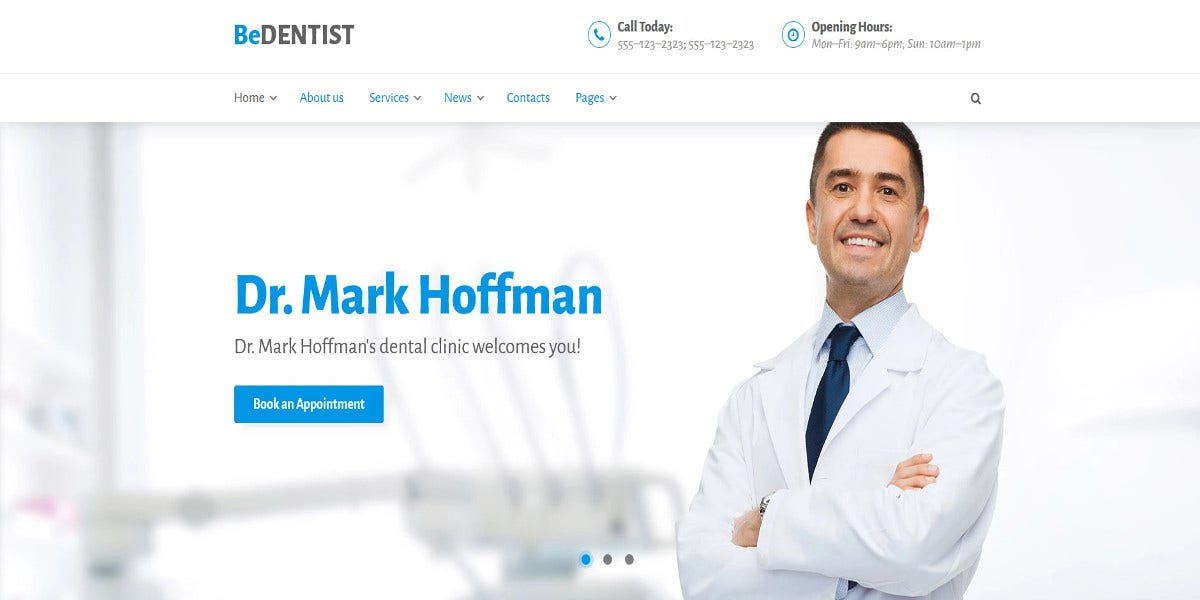 dentist-medical-wordpress-theme