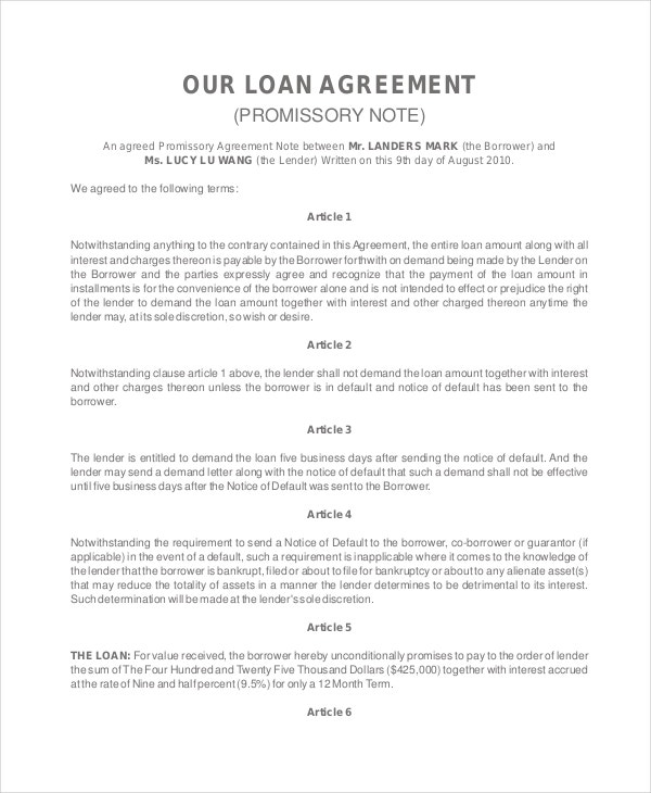 personal-loan-agreement-promissory-note
