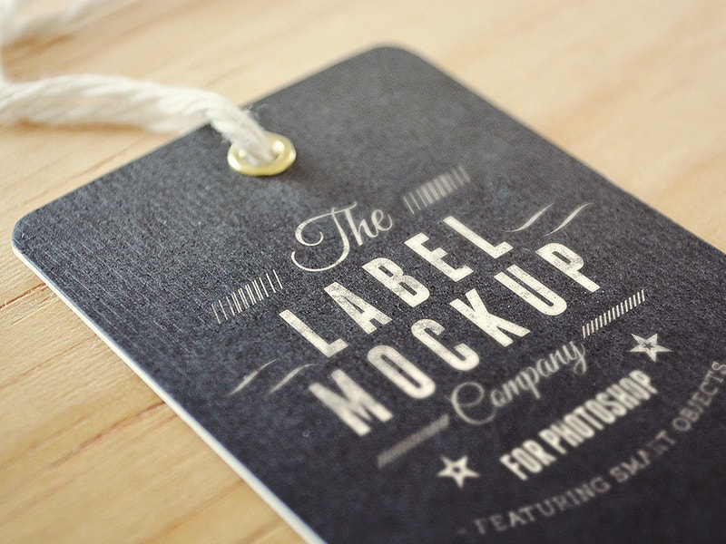 Label Mockup by Eduardo Mejia