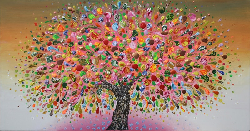 Creative Tree Painting