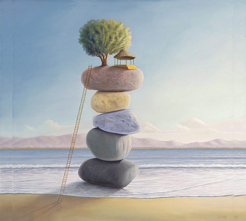 Balance Painting of Tree