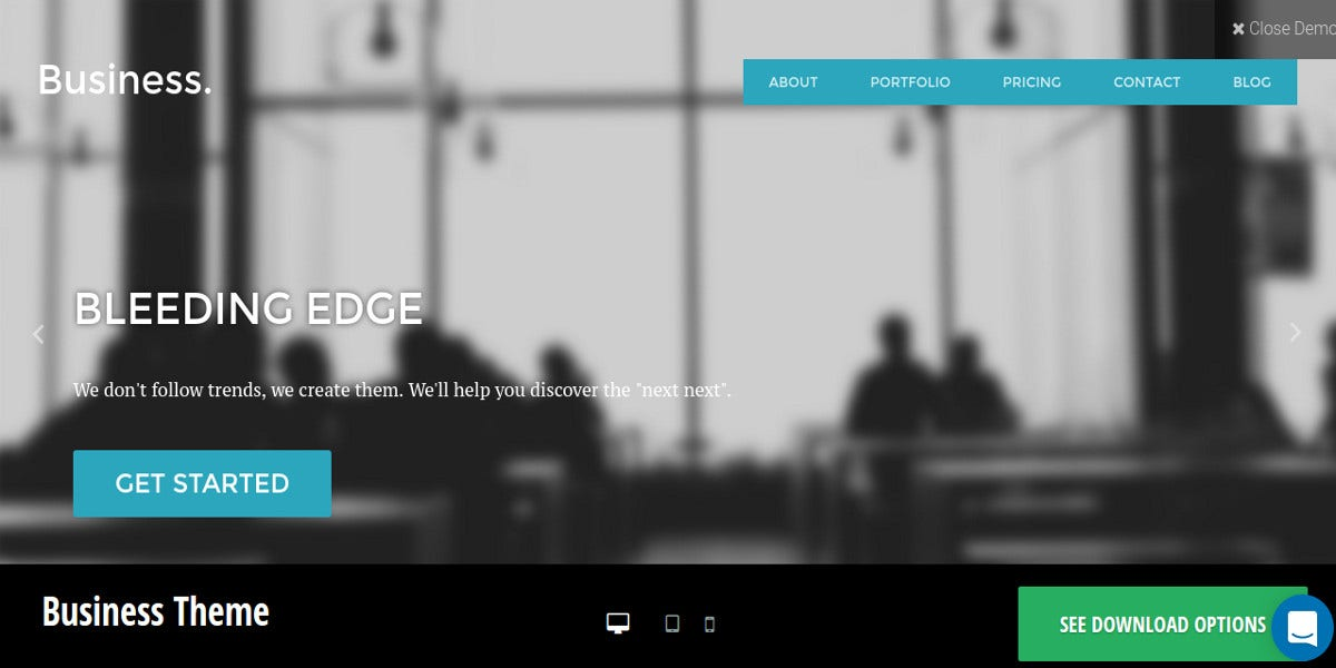 free wordpress business agencies website theme