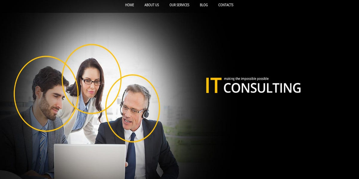 business it consulting joomla website template