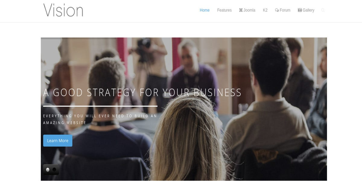 responsive business companies corporate agencies joomla website template