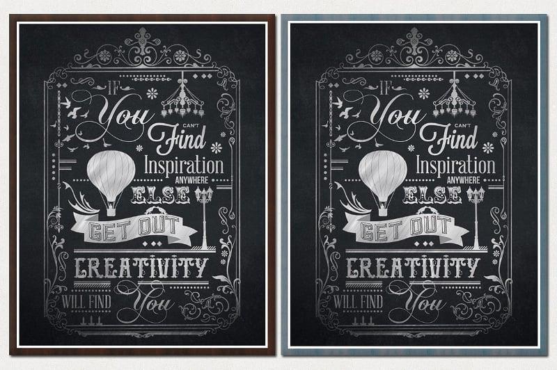 22+ Beautiful Chalkboard Posters | Free & Premium Templates